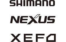 SHIMANO(シマノ)、NEXUS(ネクサス)、<br>XEFO(ゼフォー)